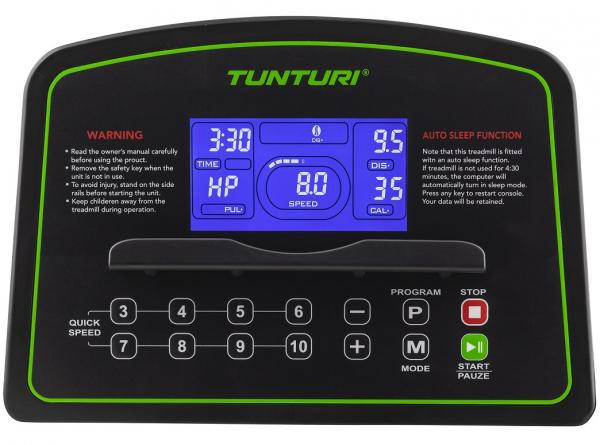 Běžecký pás Tunturi Cardio Fit T35 počítač