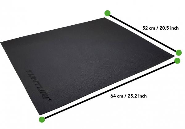 Podložka pod mini trenažéry TUNTURI 64 x 52 cm rozměry