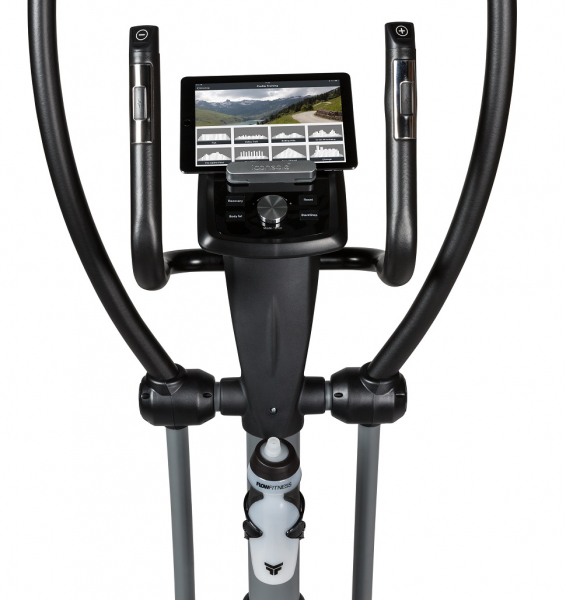 Eliptický trenažér Flow Fitness DCT2000i držák na lahev