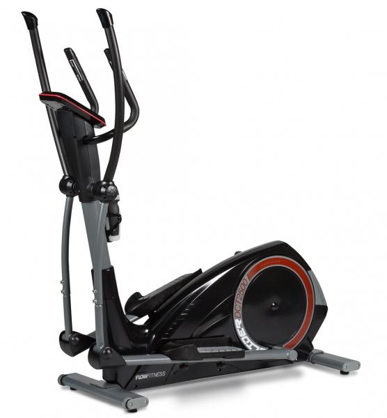 Eliptický trenažér Flow Fitness DCT2500 zepředu