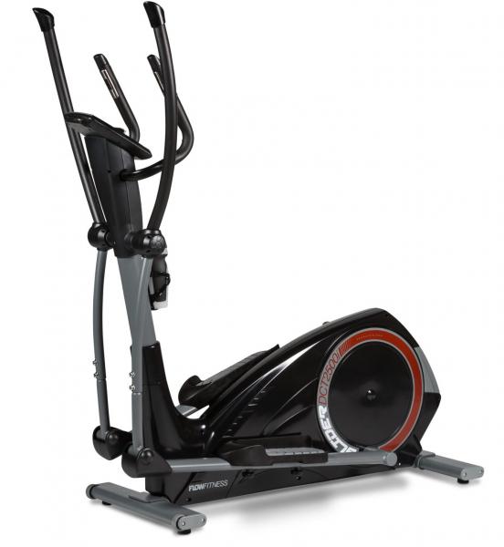 Eliptický trenažér Flow Fitness DCT2500i zepředu