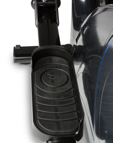Eliptický trenažér Flow Fitness X2i protiskluzové nášlapy