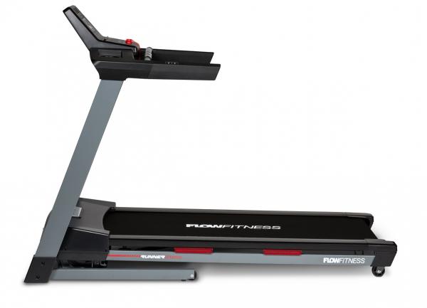 Běžecký pás Flow Fitness DTM2000i z boku