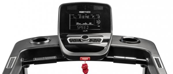 Běžecký pás Flow Fitness T2i počítač