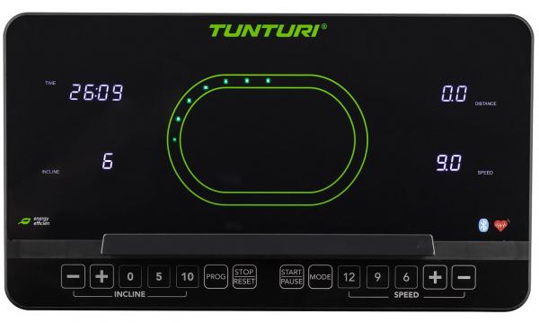 Běžecký pás Běžecký pás Tunturi T50_počítač_01