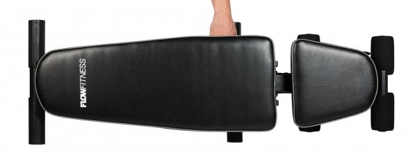 Posilovací lavice na jednoručky Posilovací lavice FLOW Fitness SMB50 složená 1