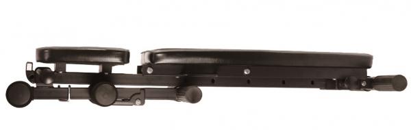 Posilovací lavice na jednoručky Posilovací lavice FLOW Fitness SMB50 složená 2