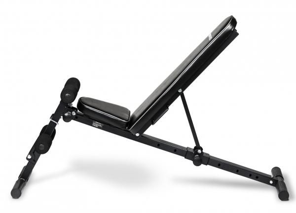 Posilovací lavice na jednoručky Posilovací lavice FLOW Fitness SMB50 z boku