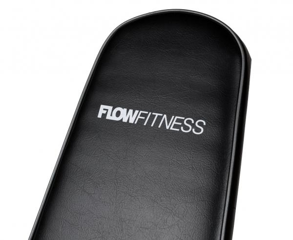 Posilovací lavice na jednoručky Posilovací lavice FLOW Fitness SMB50 zádová opěrka
