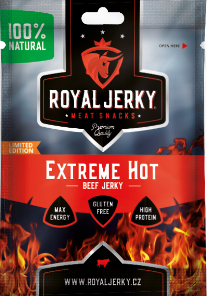 Royal Jerky Beef Extreme Hot 22 g