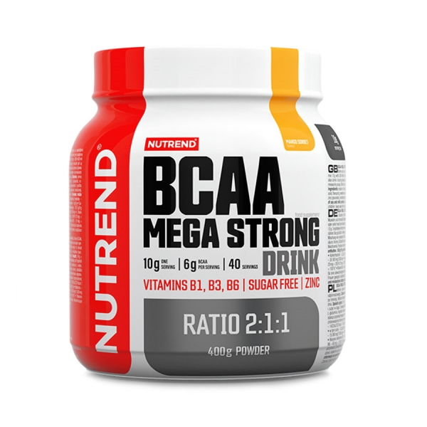 NUTREND BCAA Mega Strong Drink 400 g mango