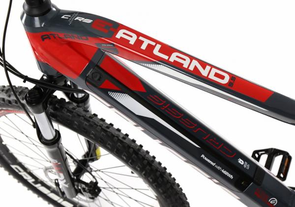 CRUSSIS e-Atland 5.5 13 Ah červeno-šedá 2020 baterie