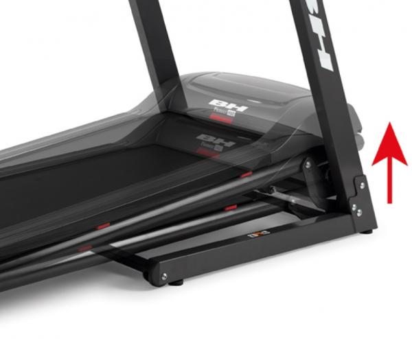 Běžecký pás BH Fitness Pioneer R3 sklon