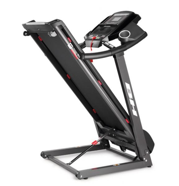 Běžecký pás BH Fitness Pioneer R3 složený