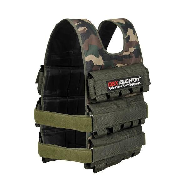 Zátěžová vesta DBX BUSHIDO DBX-W6C 1-30 kg pohled