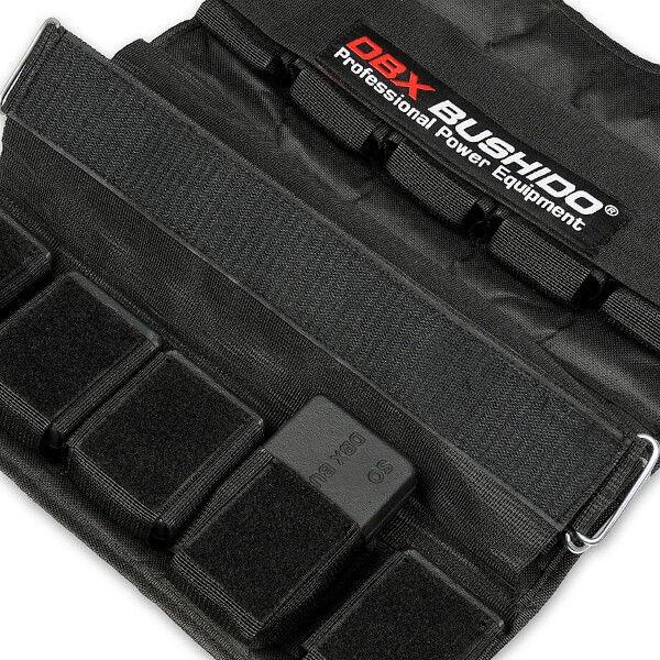 Zátěžová vesta DBX BUSHIDO DBX-W6B 1-30 kg detail 1