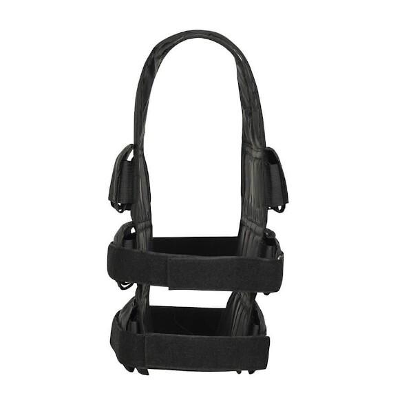Zátěžová vesta DBX BUSHIDO DBX-W6B 1-30 kg strana