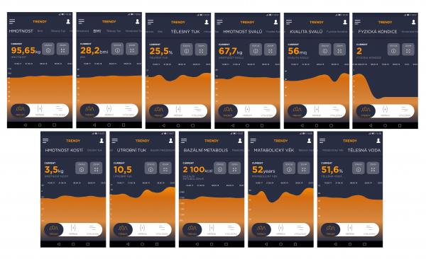 Osobní digitální váha my tanita printscreen