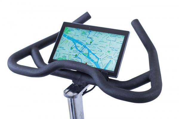 Cyklotrenažér Housefit Racer 70 iTrain app
