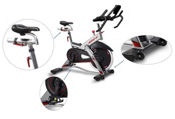 Cyklotrenažér BH FITNESS REX Electronic detaily
