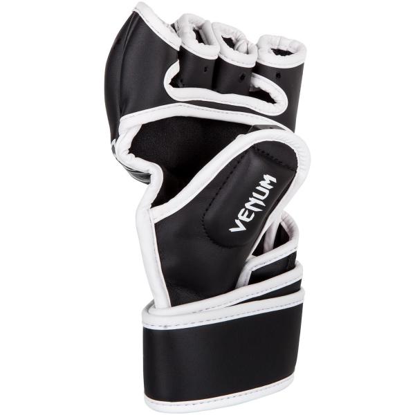 MMA rukavice Gladiator 3.0 černé bílé VENUM inside