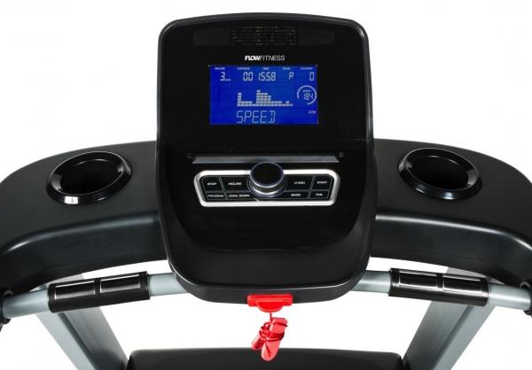 Běžecký pás FLOW Fitness DTM2500 počítač