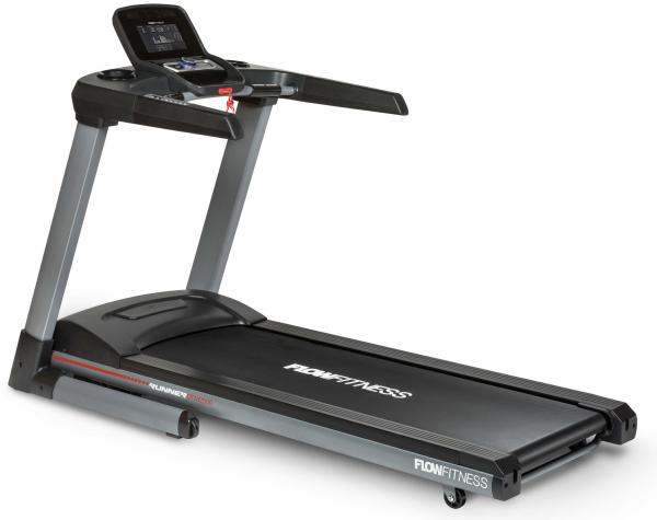 Běžecký pás FLOW Fitness DTM2500 z profilu
