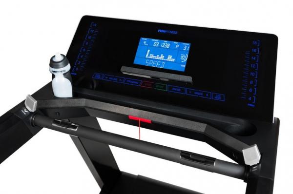 Běžecký pás FLOW Fitness Perform T3i počítač z profilu