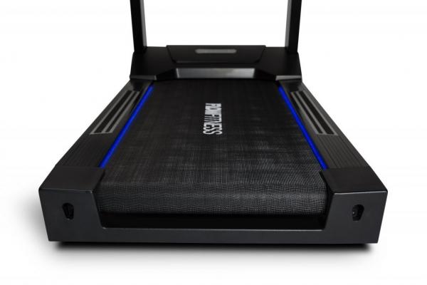 Běžecký pás FLOW Fitness Perform T3i vodící světlo modré