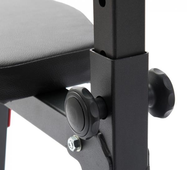 Posilovací lavice na jednoručky MARBO MH-L105 detail 2