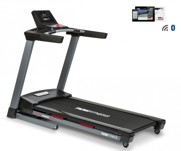 Běžecký pás Flow Fitness DTM2000i profil + app