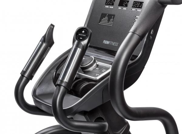 Eliptický trenažér Flow Fitness CF5i Pro Line hand pulse