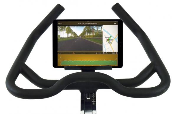 Cyklotrenažér Flow Fitness DSB600i app3