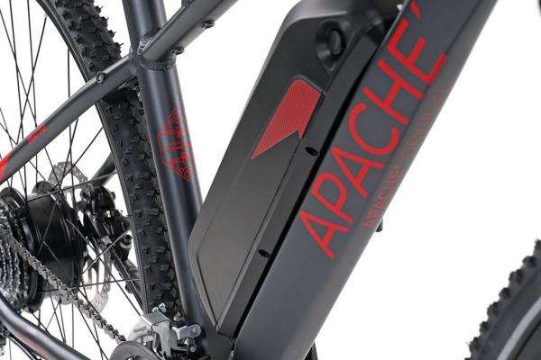 APACHE Matto E6 pearl black 2020 baterie