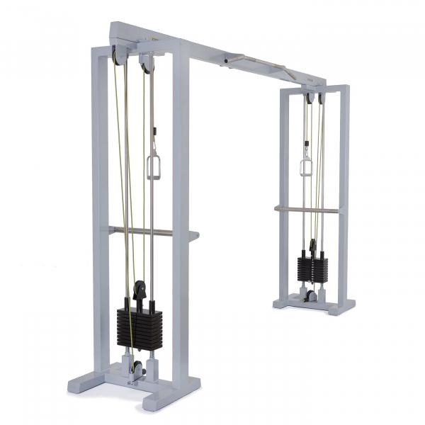 Kladkový stroj Protisměrná kladka s úzkou a širokou hrazdou FITHAM profilová fotka