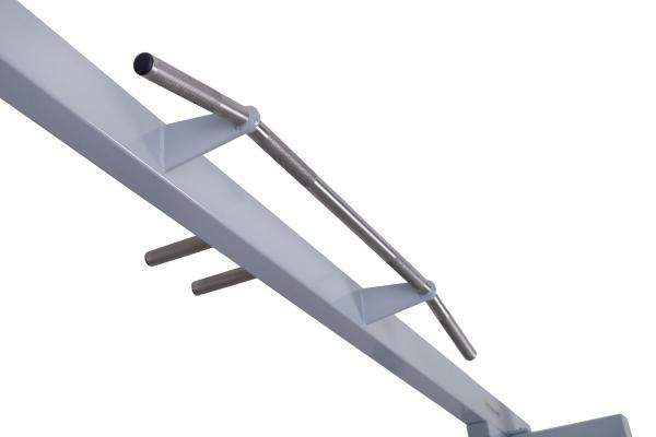 Kladkový stroj Protisměrná kladka s úzkou a širokou hrazdou FITHAM široká hrazda