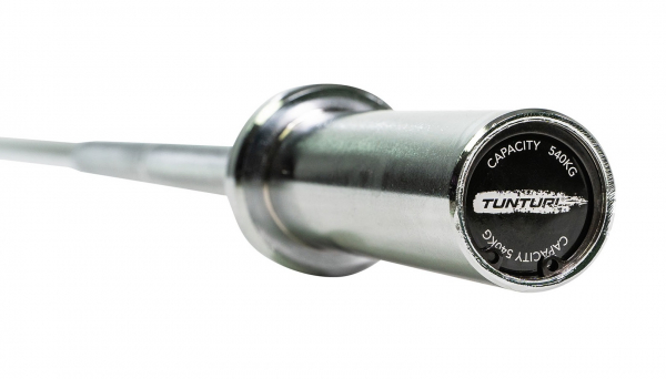 Tunturi Olympic Junior Bar 50 mm detail z profilu