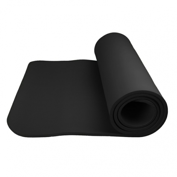 Podložka na jógu Yoga Mat Plus POWER SYSTEM černá