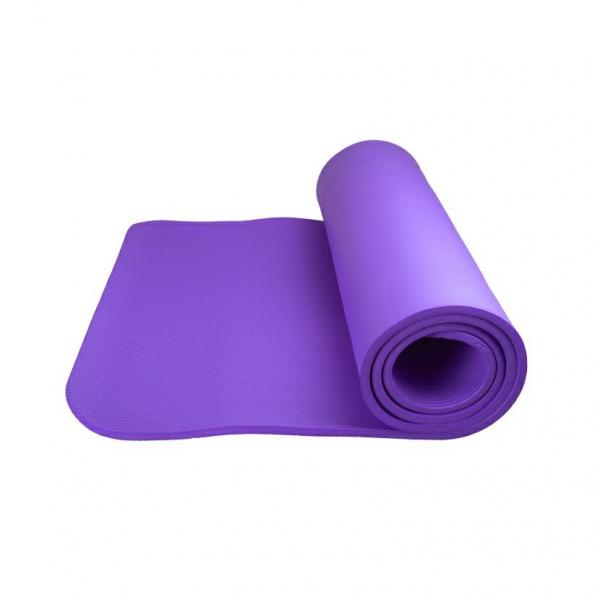 Podložka na jógu Yoga Mat Plus POWER SYSTEM fialová