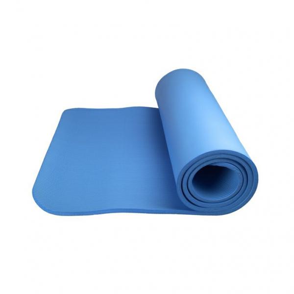 Podložka na jógu Yoga Mat Plus POWER SYSTEM modrá
