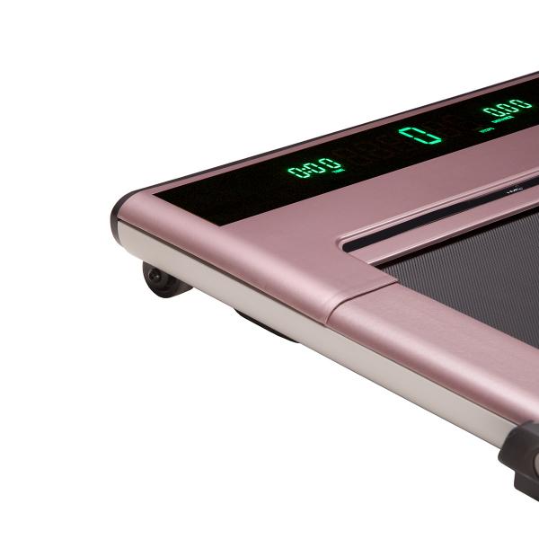 Běžecký pás LOOP08 růžový Detail PC z boku