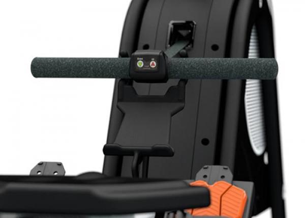 Veslovací trenažér BH Fitness Movemia RW1000 tlačítka pro rychlé ovládání odporu
