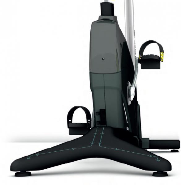 Rotoped BH Fitness Movemia BR1000 SmartFocus rám ve tvaru V