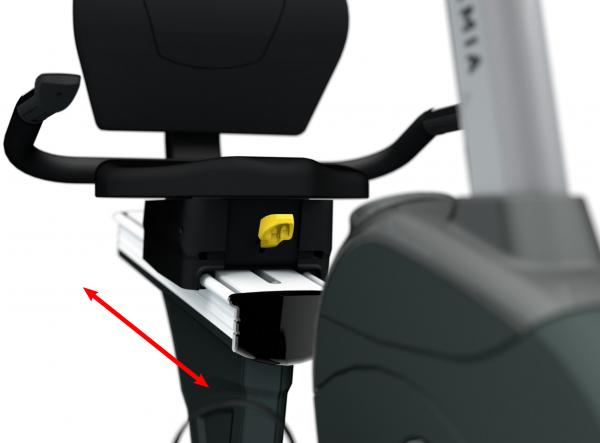 Rotoped BH Fitness Movemia BR1000 SmartFocus sedlo