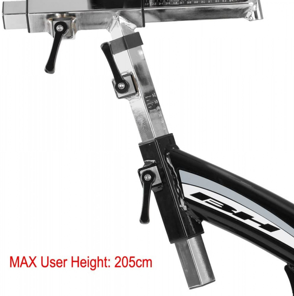 Cyklotrenažér BH Fitness SB2,8 Aero max. výška uživatele
