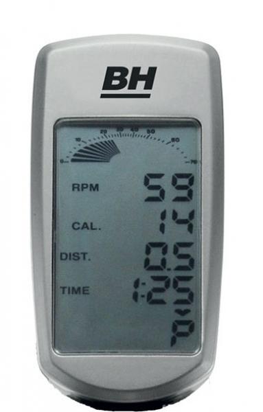 Cyklotrenažér BH Fitness SB2,8 Aero počítač