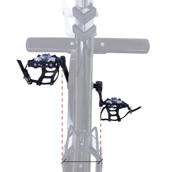 Cyklotrenažér BH Fitness SB2,8 rozteč mezi pedály