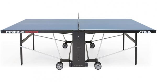 Stůl na stolní tenis venkovní STIGA Performance Outdoor z boku