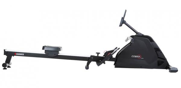 Veslovací trenažér Hammer Rower Cobra XTR Plus II z boku