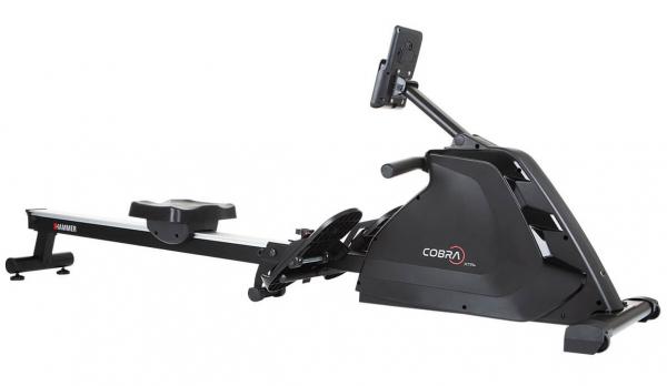 Veslovací trenažér Hammer Rower Cobra XTR Plus II zepředu